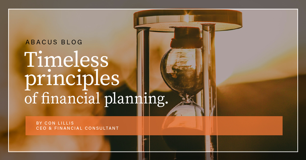 Timeless principles of financial planning.