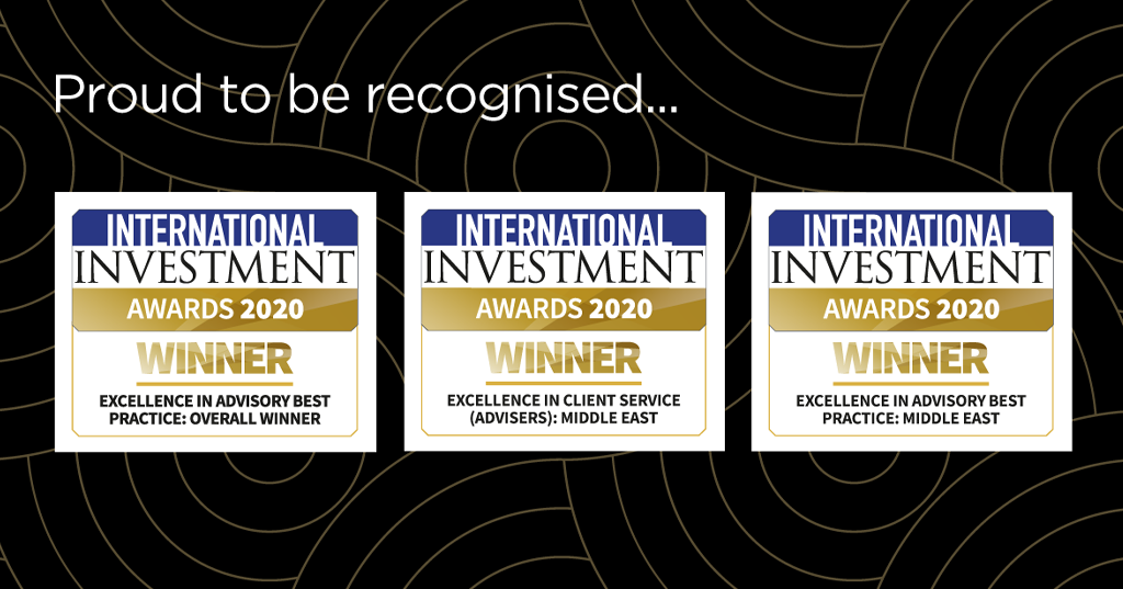 Proud to be recognised at this year's International Investment Awards.